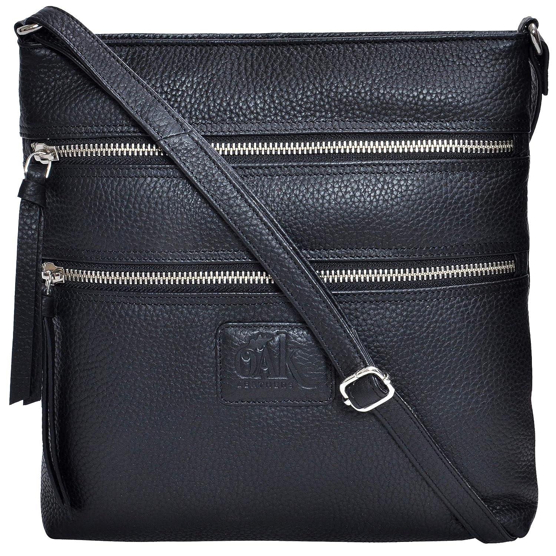 c9d75bda3fb Leather Crossbody Purses and Handbags for Women-Premium Crossover Bag Over  the Shoulder Womens