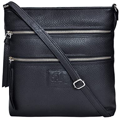 931faad4b97f Leather Crossbody Purses and Handbags for Women-Premium Crossover Bag Over  the Shoulder Womens (