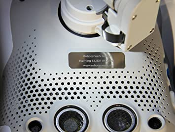 Robot de drohnen placa de matrícula de titanio Micro, dron ...