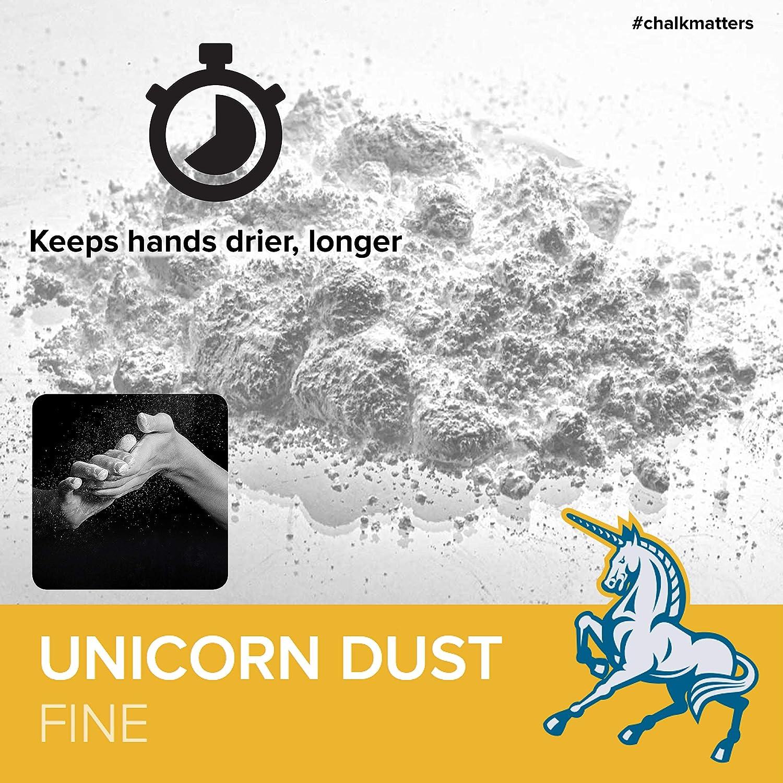 FRICTION LABS FrictionLabs El estándar de Tiza para la Escalada en Roca, Crossfit 2.5 oz Fine Texture - Unicorn Dust