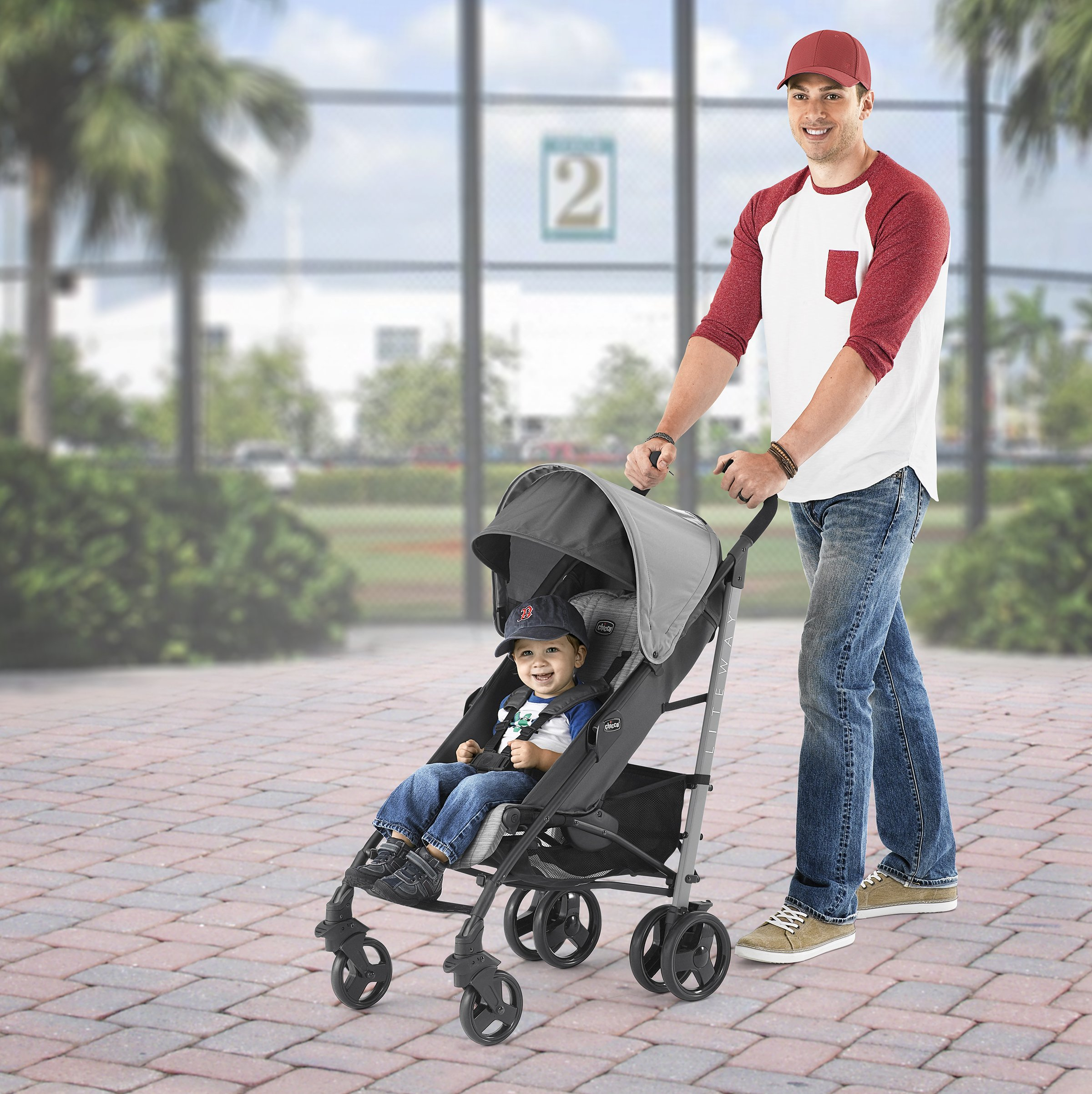 Chicco Liteway Stroller, Fog by Chicco (Image #5)