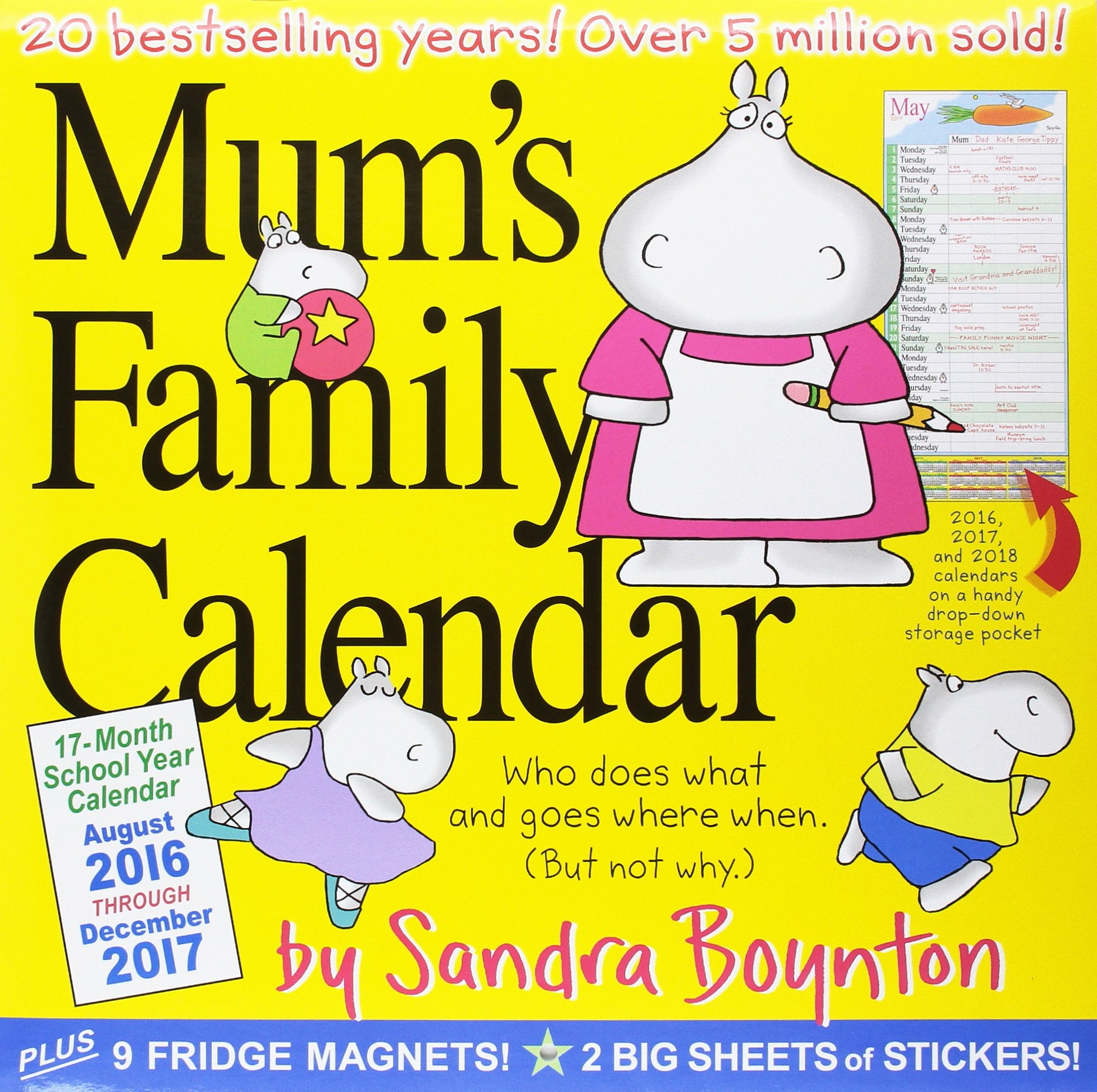 Amazon.in: Buy 2017 Mums Family Wall Calendar Book Online at Low Prices in  India | 2017 Mums Family Wall Calendar Reviews & Ratings