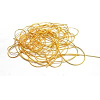 Am Goelx Zardozi Gold Springs For Bangles/Jewellery Making- Decoration/Crafts- Pack Of 5 Springs Approx 5 Meters