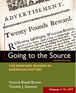 Amazon the american promise volume 1 to 1877 9781457668418 going to the source volume i to 1877 the bedford reader in american fandeluxe Choice Image