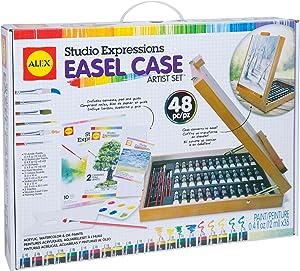 Alex Studio Expressions Easel Case Artist Set Kids Art Supplies