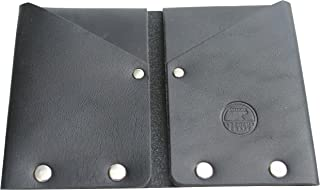 product image for American Bench Craft Men's Hammer Riveted Leather Front Pocket Wallet