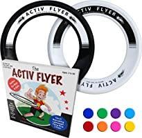 Activ Life Best Kid's Flying Rings [2 Pack] Fly Straight & Don't Hurt - 80% Lighter Than Standard Flying Discs - Replace...