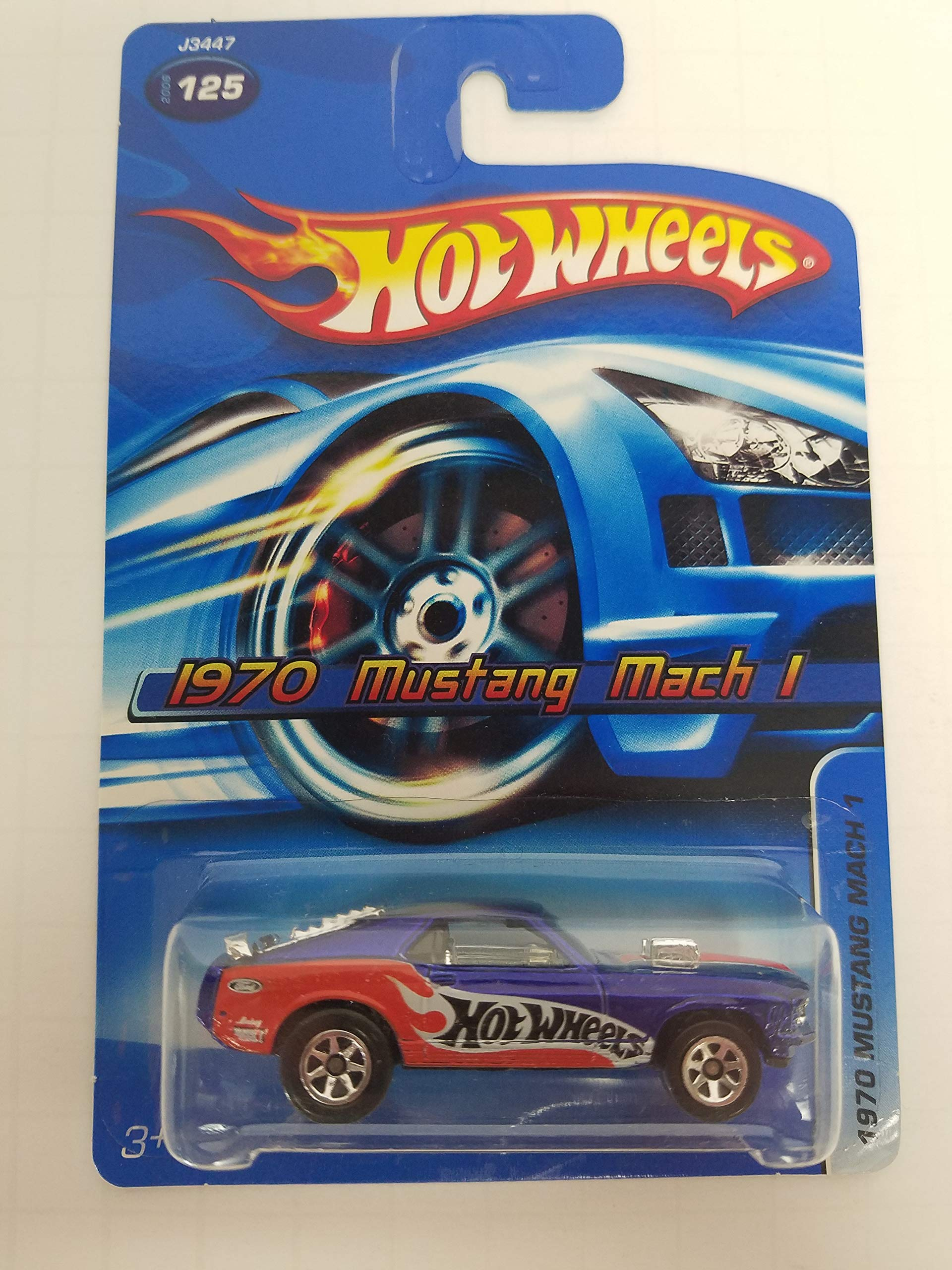 1970 Mustang Mach 1 No.125 Hot Wheels 2006 1/64 scale diecast car