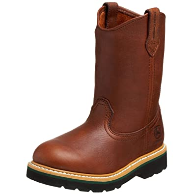 11476500b Amazon.com | John Deere 2113 Western Boot (Toddler/Little Kid) | Boots