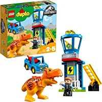 LEGO UK 10880 DUPLO Jurassic World T-Rex Tower Set