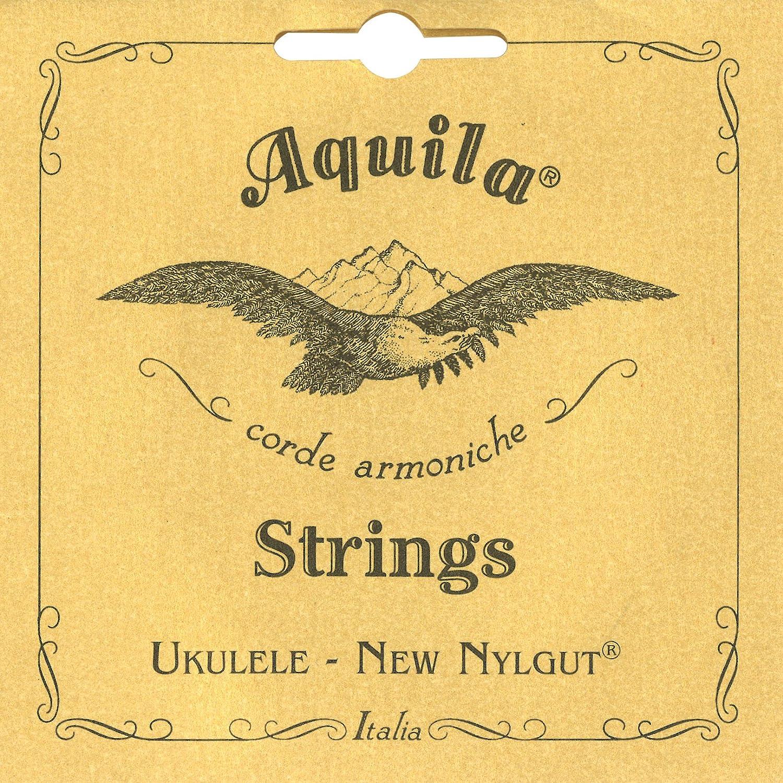 Satz für Konzert Ukulele Concert Uke 85U Aquila RED Ukulelen Saiten