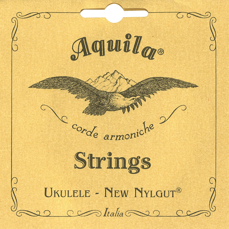 La Do Aquila 4U Mi Juego de cuerdas para ukelele soprano en Sol