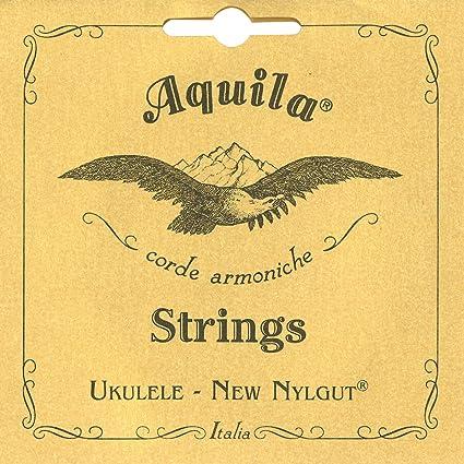Amazon Aquila Corde Armoniche New Nylgut Ukulele Soprano