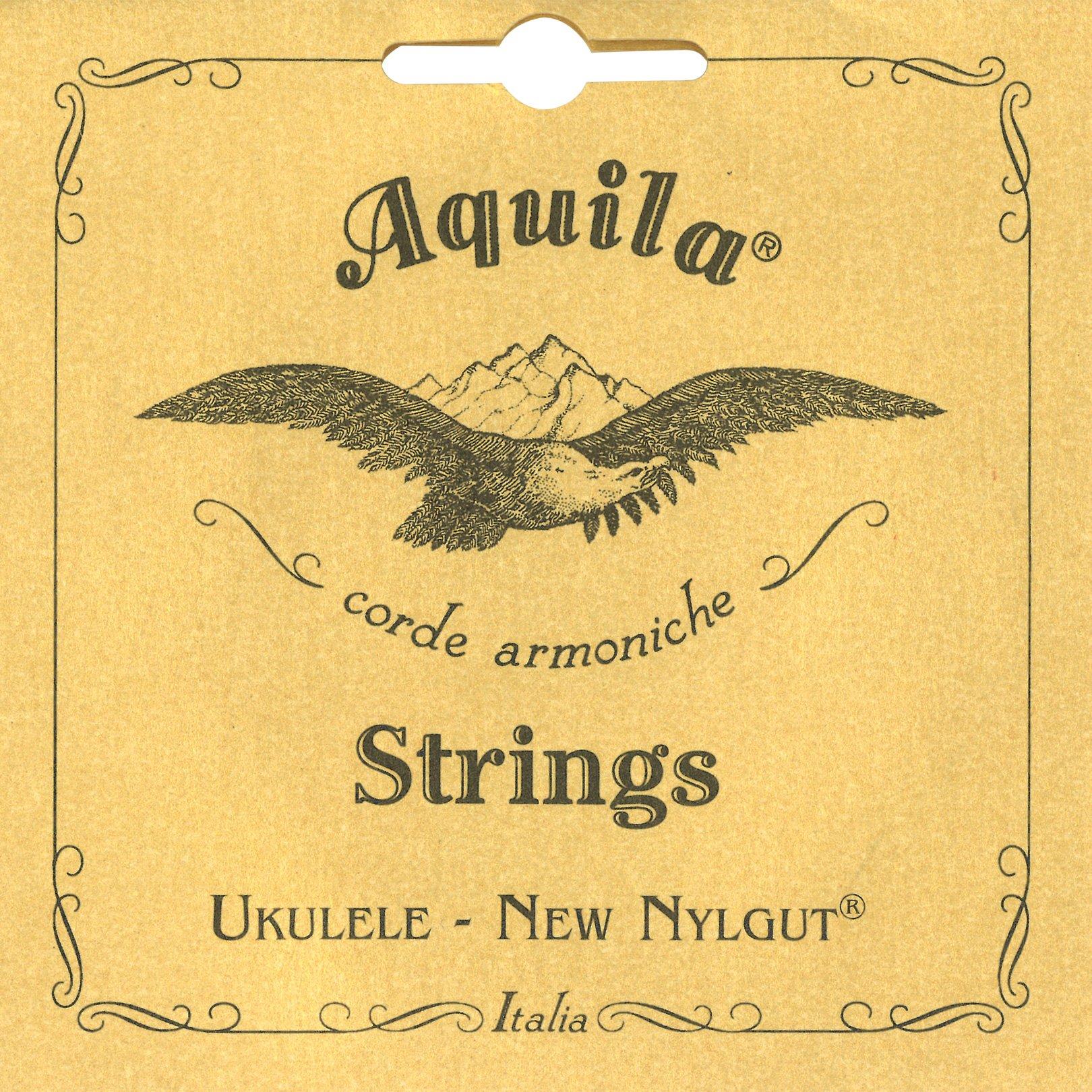 Aquila 4U - Juego de cuerdas para ukelele soprano en Sol, Do, Mi, La product image