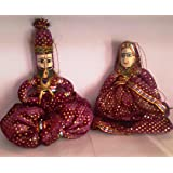 Indyhaat Rajasthani Puppets (38.1 cm)
