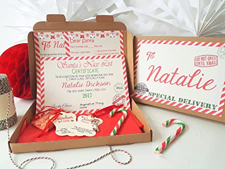 Christmas eve box personalised a5 size santa letter magic key christmas eve box personalised a5 size santa letter magic key reindeer food spiritdancerdesigns Image collections