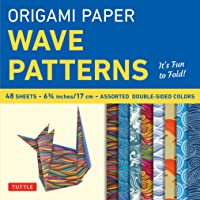 Origami Papers Wave Patterns