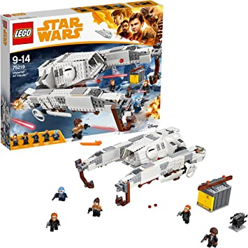 Oferta amazon: LEGO Star Wars - Imperial AT-Hauler, Juguete de La Guerra de las Galaxias con Nave Espacial Basado en la Película de Han Solo, Incluye 5 Minifiguras (75219)