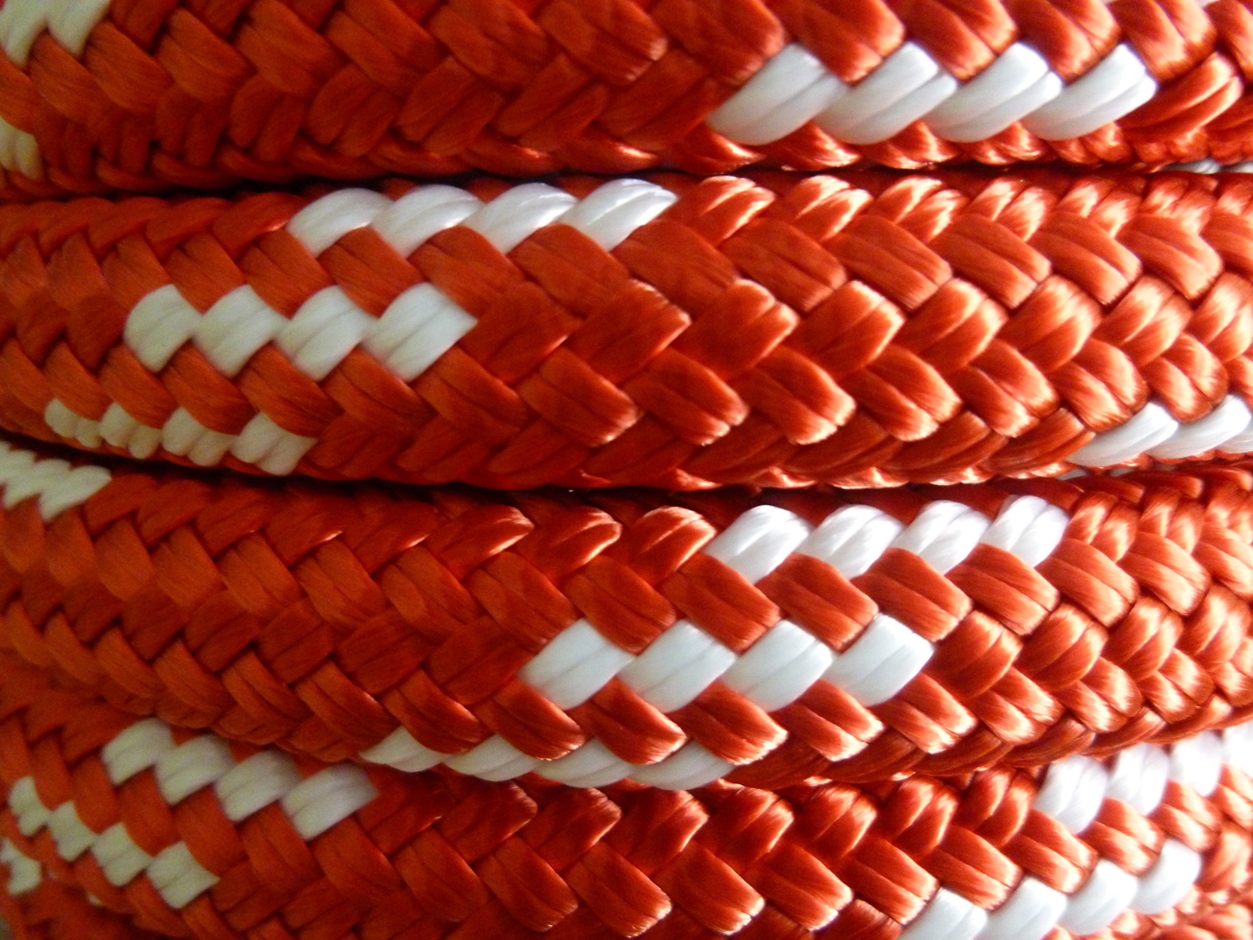 5/8'' x 100 ft. Double Braid Yacht Braid Polyester Sailboat Rigging Nautical Rope Spool. Valley Rope.