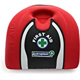 134 Piece Premium First Aid Kit - Case Includes Wash Proof Plasters Emergency Blanket for Home, Office, Car, Caravan, Workplace, Travel