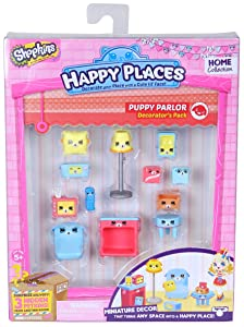 Happy Places Shopkins Decorator Pack Puppy Parlour