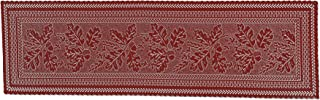 product image for Heritage Lace Dark Paprika Oak Leaf Table Runner