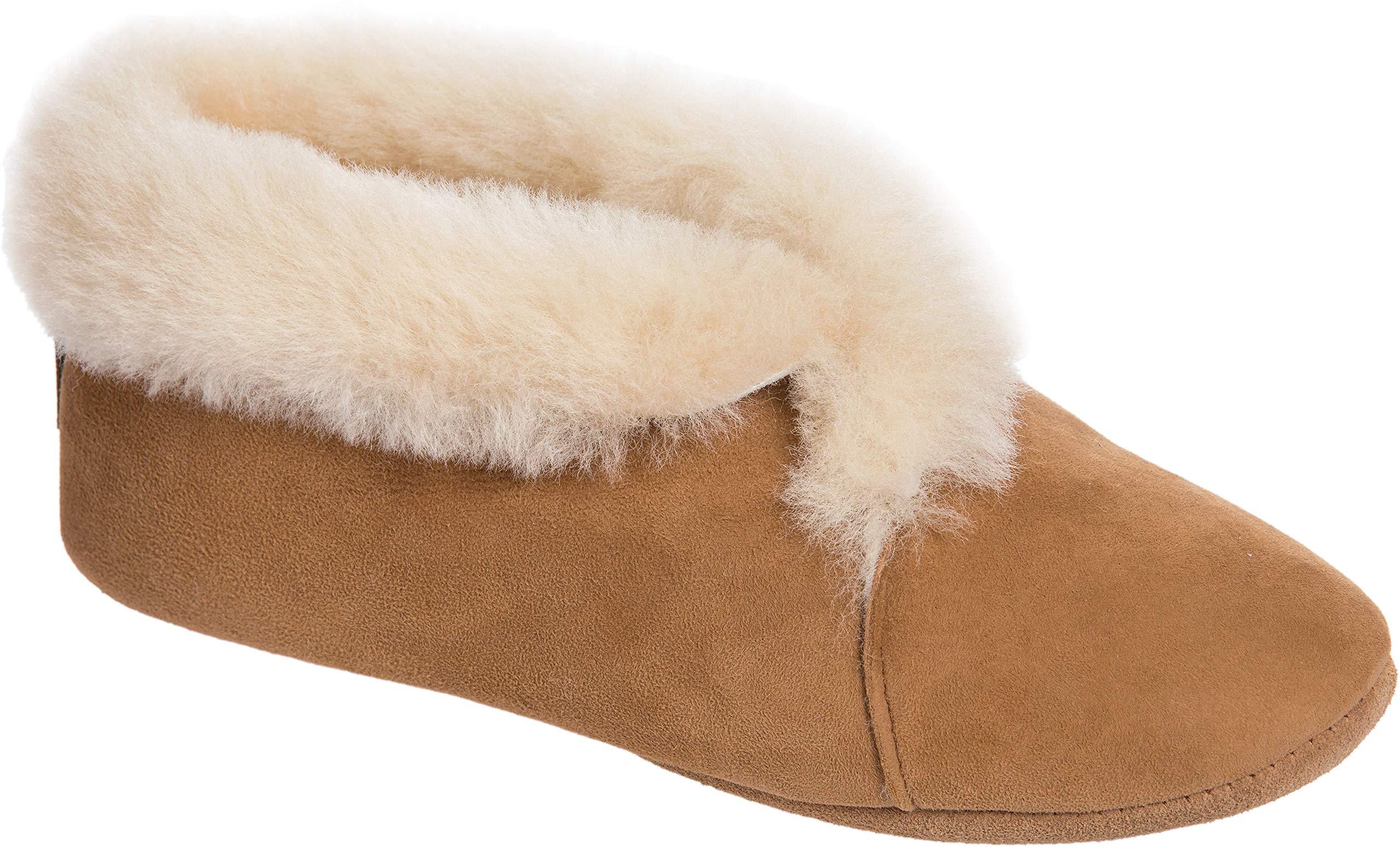 Women's Sophia Soft-Sole Australian Merino Sheepskin Slippers by Overland Sheepskin Co