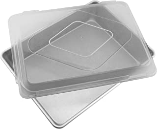 product image for Elements Premium Aluminized Covered Bake & Roast Pan, Gray