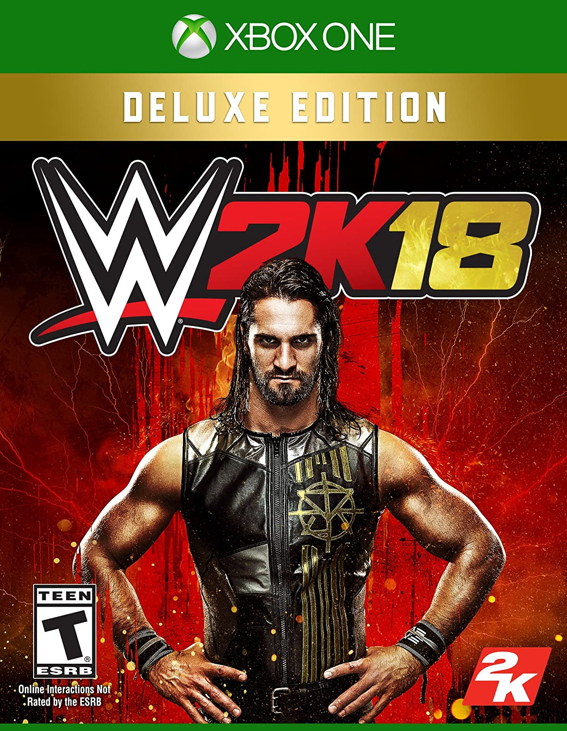 Take-Two Interactive WWE 2K18 Deluxe De lujo Xbox One vídeo ...
