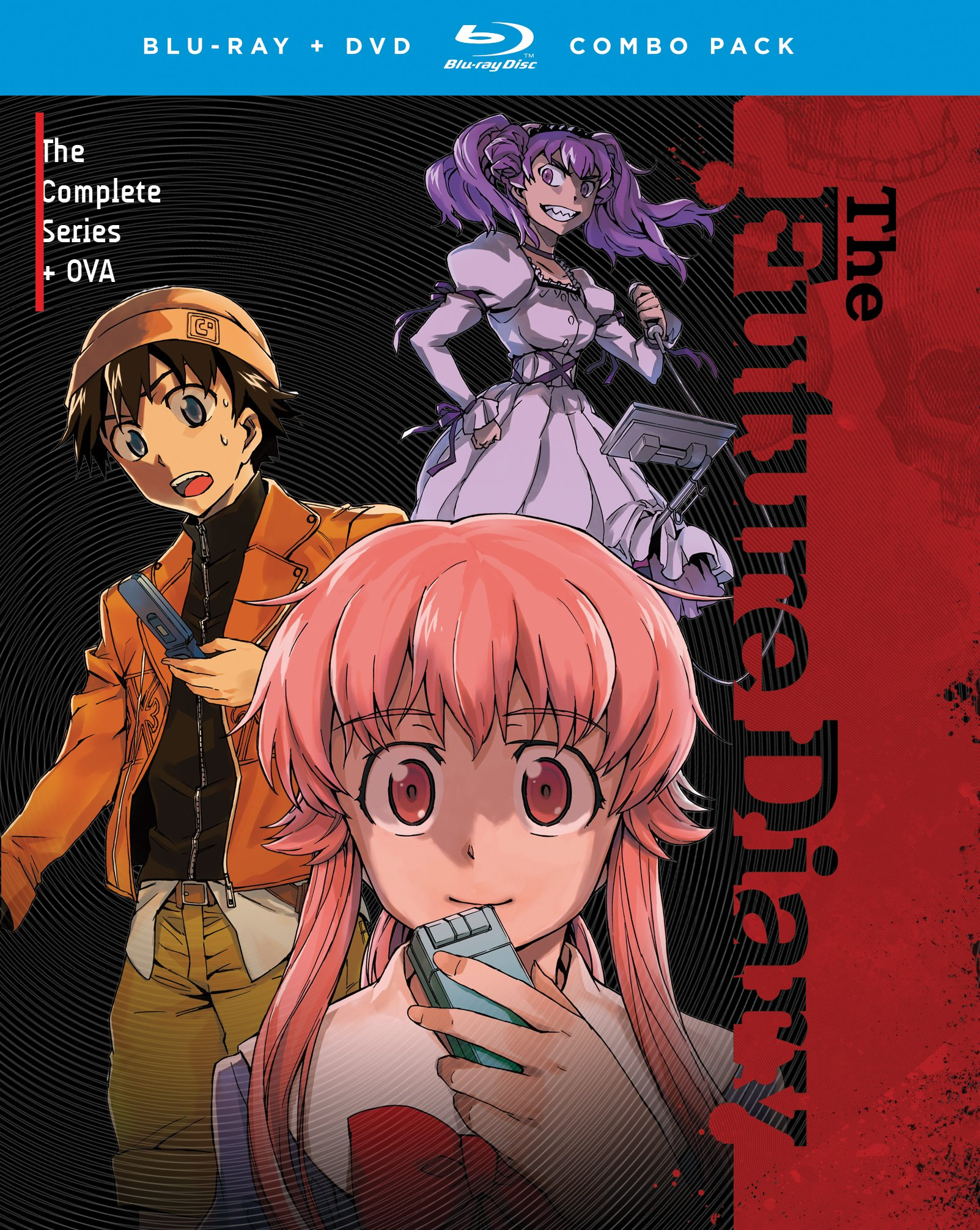Future Diary: The Complete Series + OVA [Blu-ray]