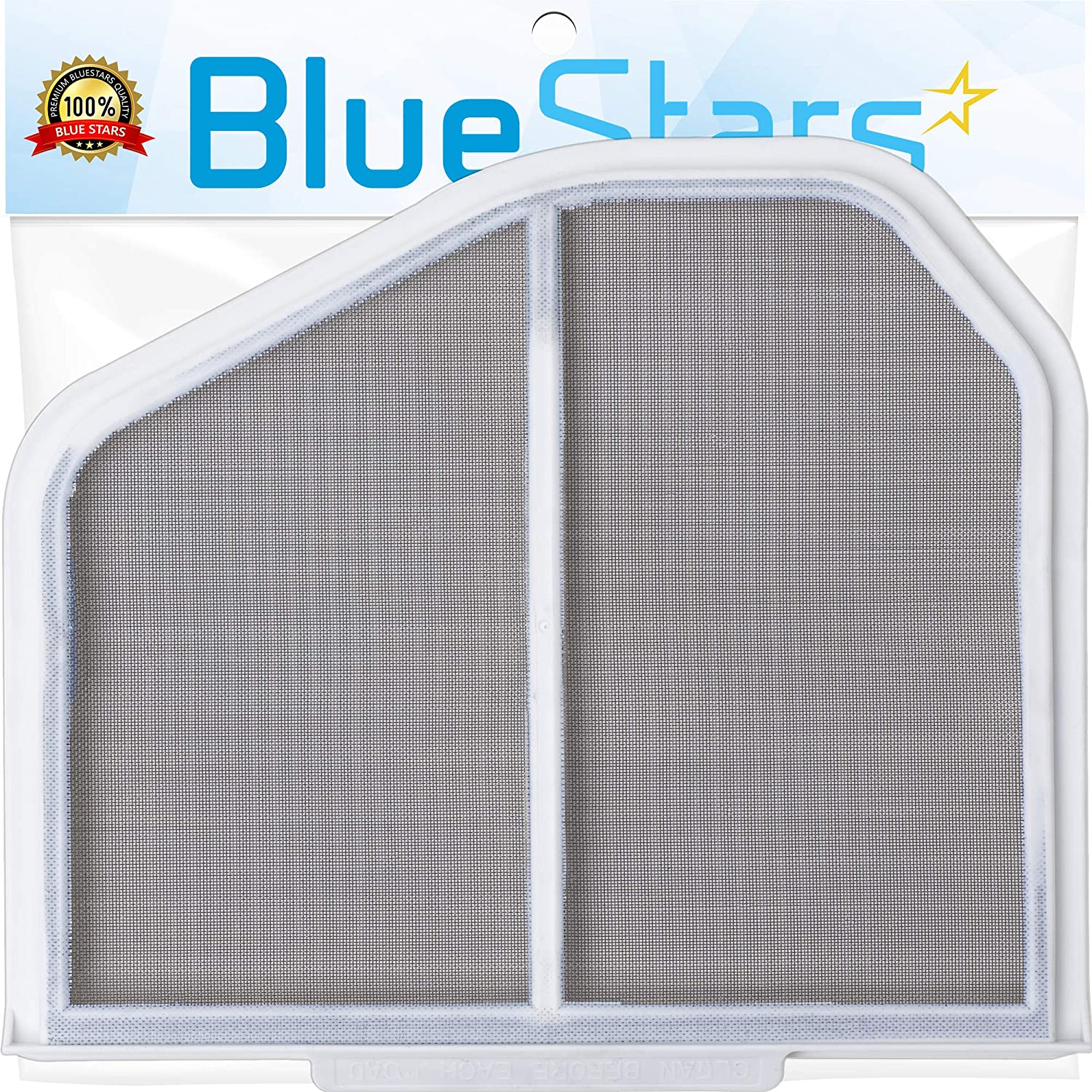 Ultra Durable W10120998 Dryer Lint Filter Replacement Part By Blue Stars - Exact Fit for Whirlpool & Kenmore Dryers - Replaces 1206293 3390721 8066170 8572268