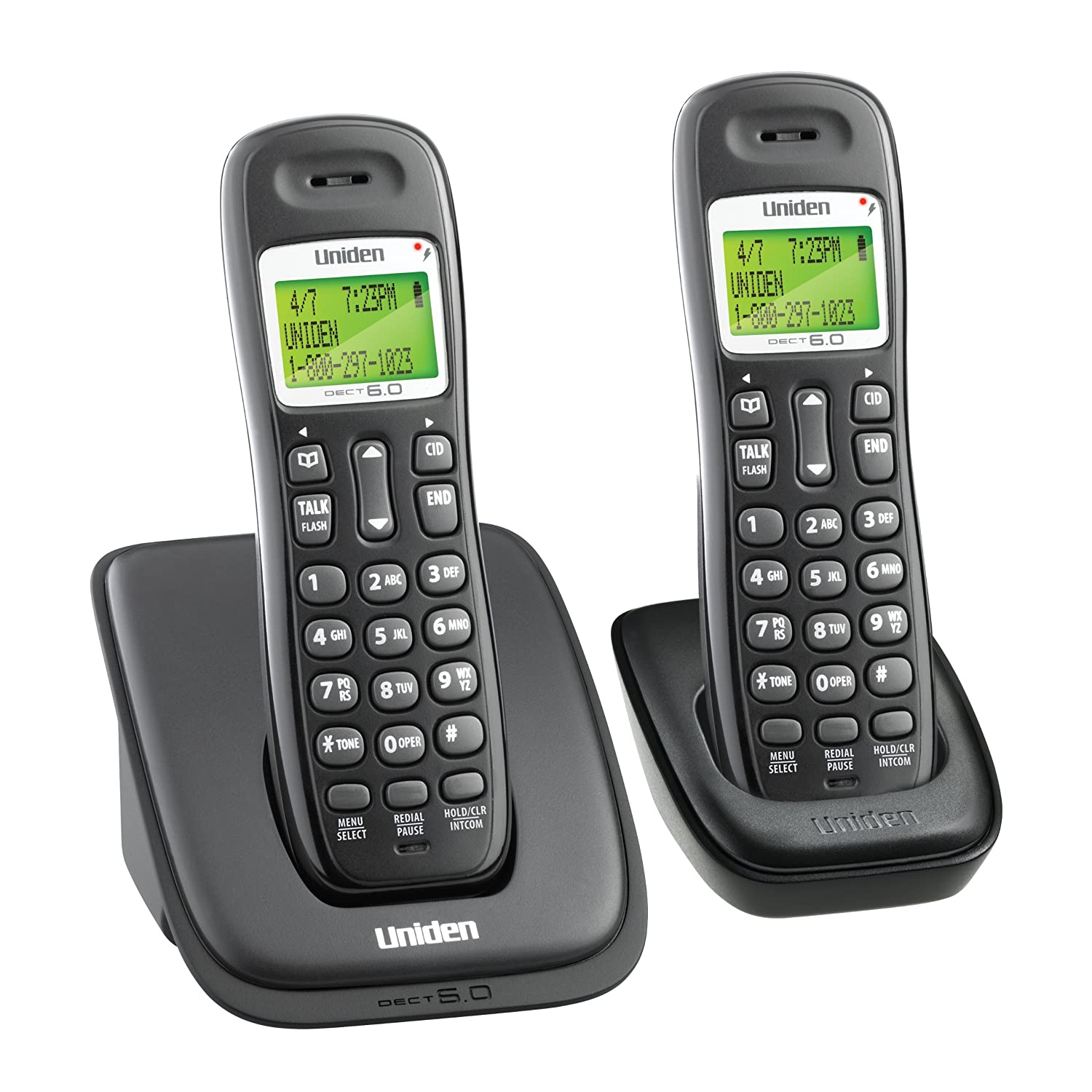 Amazon.com: Uniden DECT 6.0 Cordless Phone with Caller ID/Call Waiting  DECT1363: Electronics