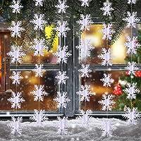3 Metros de Copo de Nieve Decoraciones Colgantes
