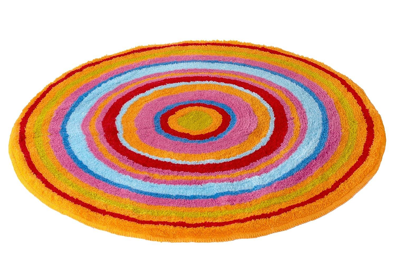 Meusch 2253271307 Badteppich Mandala, 60 cm rund, taupe
