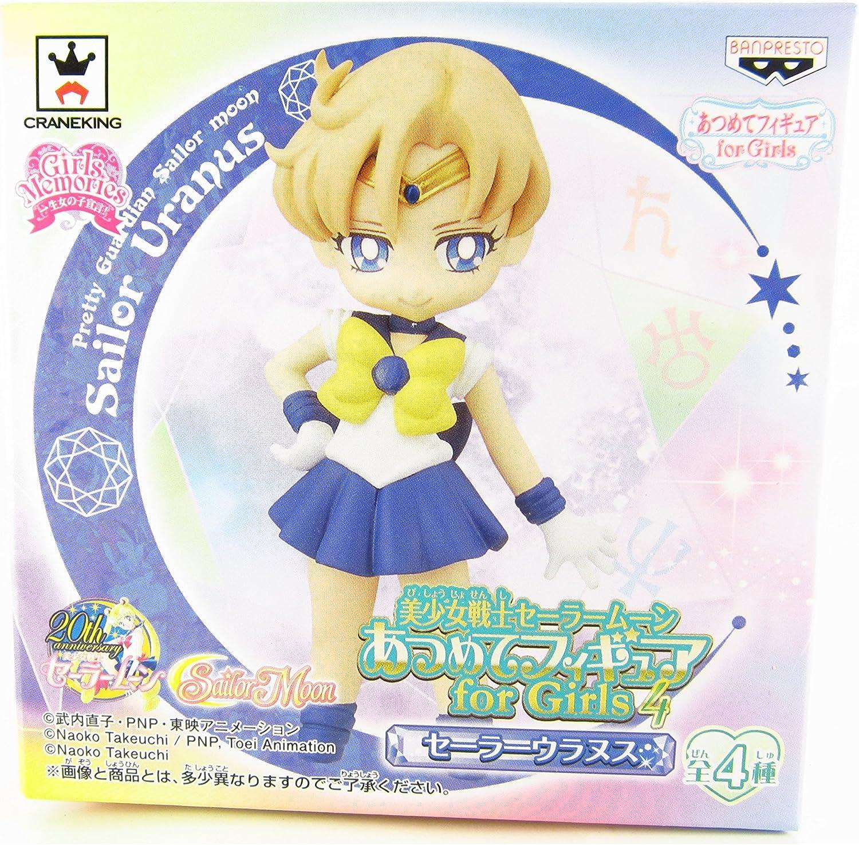 6pc Details about Anime Sailor Moon mini cute Crystal girl PVC figure Toys