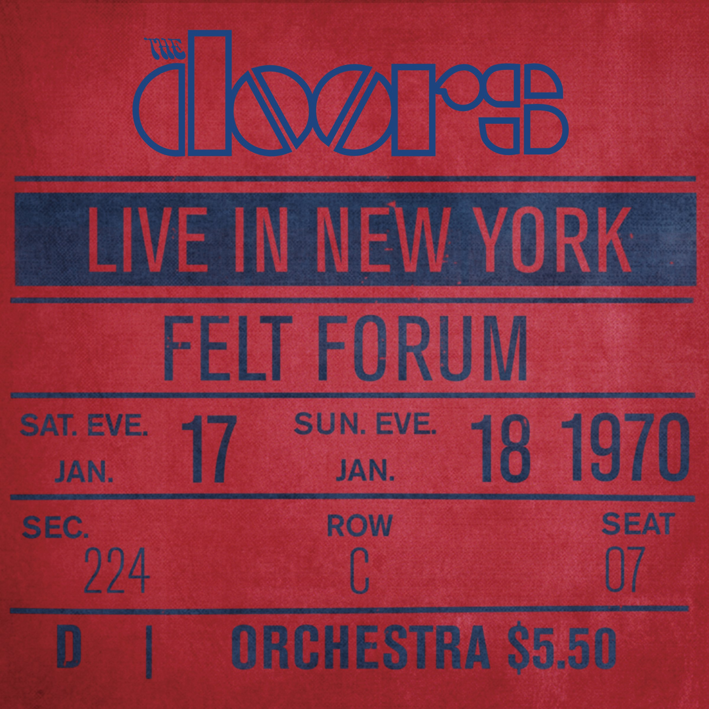Live in New York, Felt Forum by Doors, The