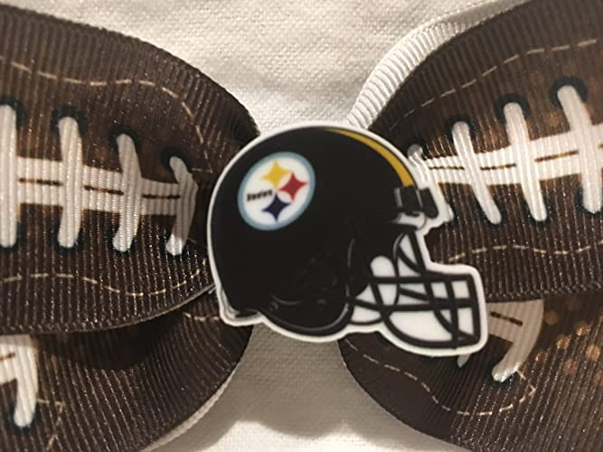 39970605afe77 Amazon.com  Pittsburgh Steelers Hair Bow