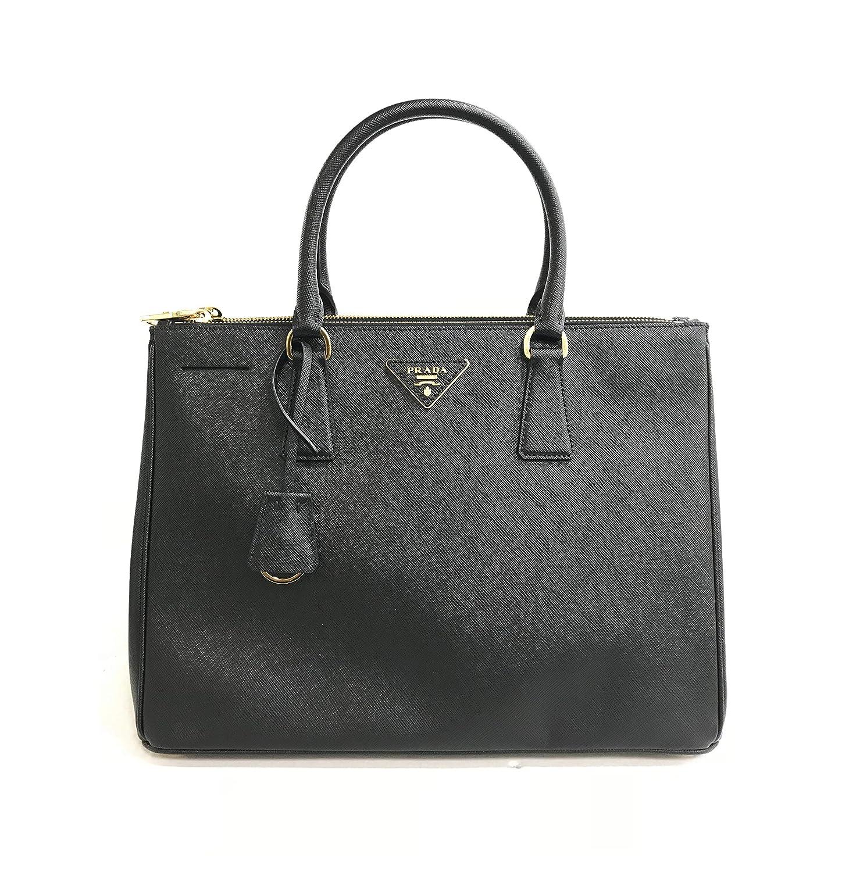 62216e98a2b766 Amazon.com: Prada Women's Travel Nylon Leather Duffel Bag Black: Clothing