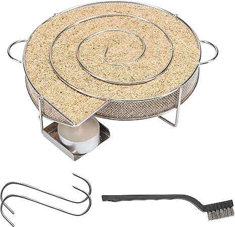 Grill oder R Sparbrand für Smoker riijk Cold Smoke Kaltrauchgenerator 6-eckig