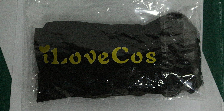 Black iLoveCos Lange Fingerlose Elastischer Spitze Braut Handschuhe 1920er Zubeh/ör Flapper Kost/üm f/ür Frauen