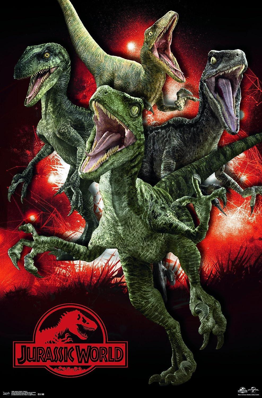 Trends International  Jurassic World Raptors Wall Poster 22.375 x 34