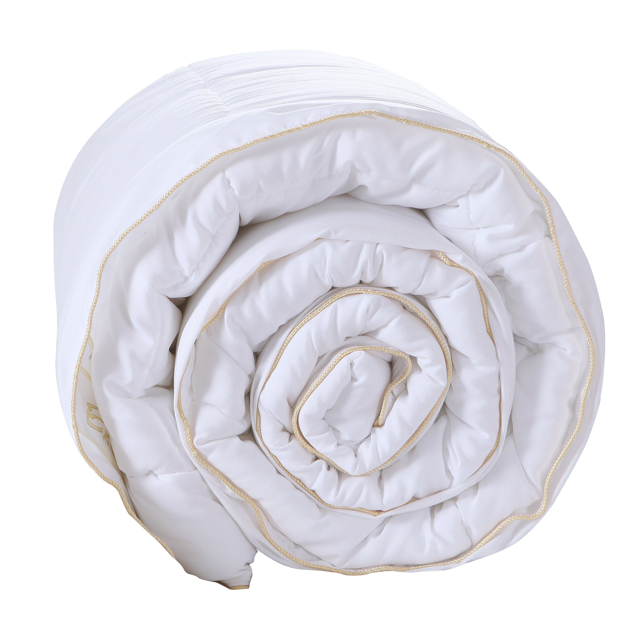 Exclusivo MezclaLuxury Queen Size White Down Alternative Quilted Comforter Duvet Insert with Corner Tabs/Loops for All Seasons - Soft, Hypollergenic and Lightweight