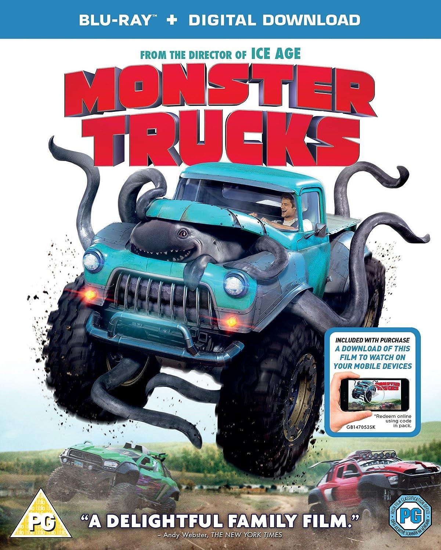 Amazon Com Monster Trucks Blu Ray Digital Download 2016 Region Free Movies Tv