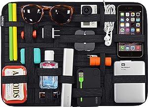 """Cocoon CPG51BK GRID-IT! Organizer xLarge 11"""" x 15"""" Luggage Accessory (Black)"""