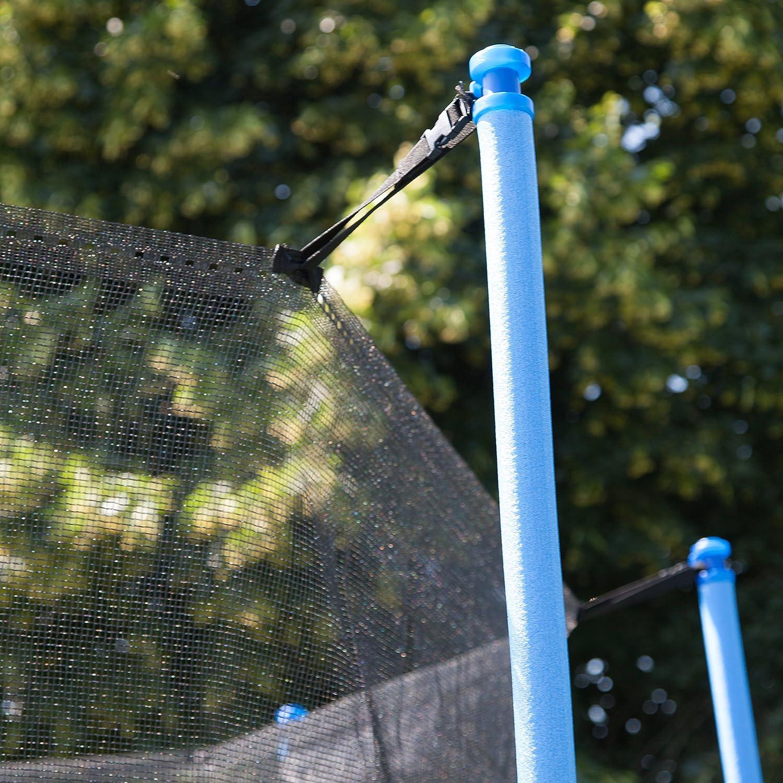 filet de s/écurit/é pour trampolines /Ø 180 251 r/ésistant 366 430 cm avec fermeture /éclair Filet de s/écurit/é Ultrasport pour trampoline de jardin Mod/èles de Jumper Ultrasport depuis mai 2014 305