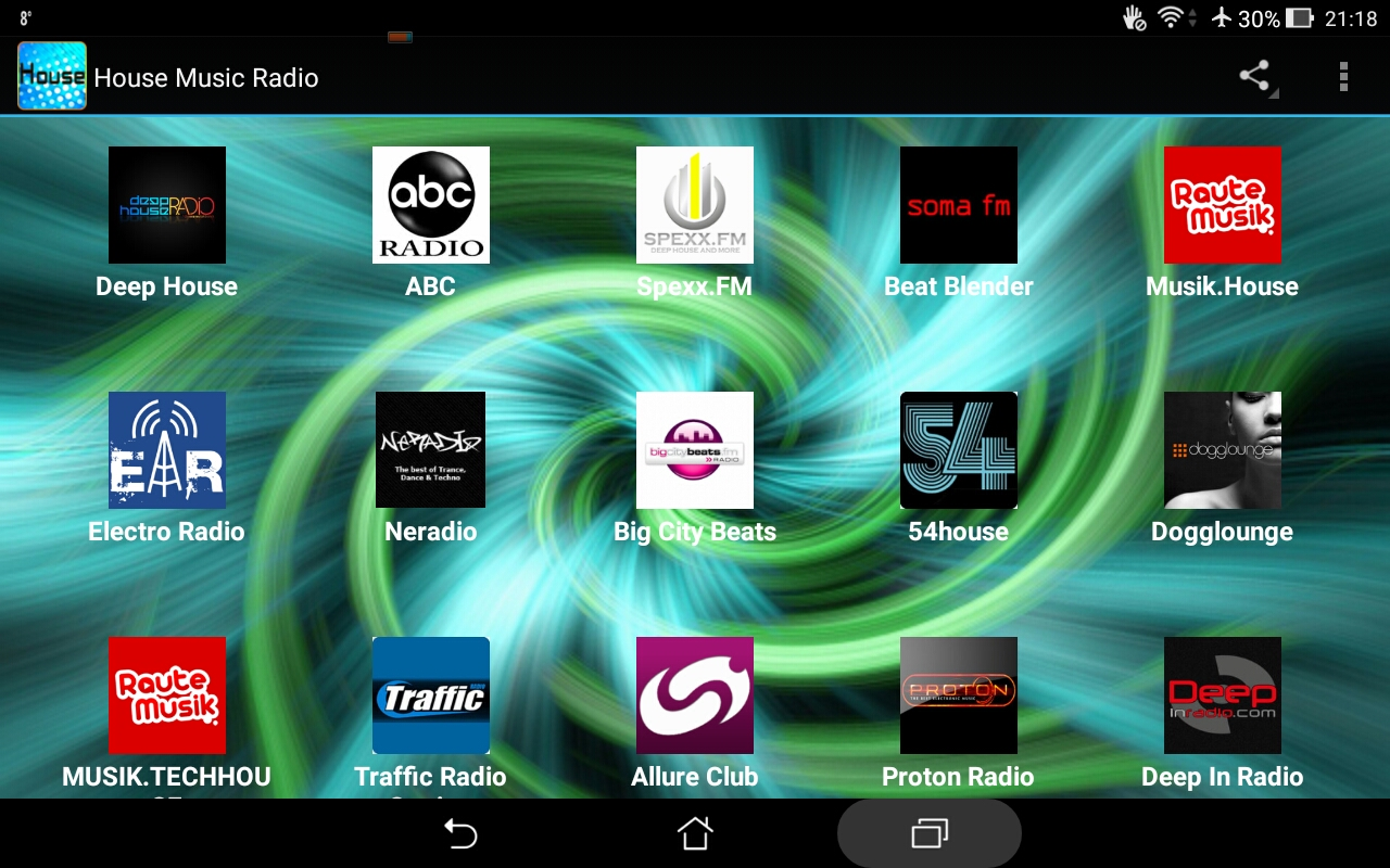 House music radio amazon appstore for House music radio