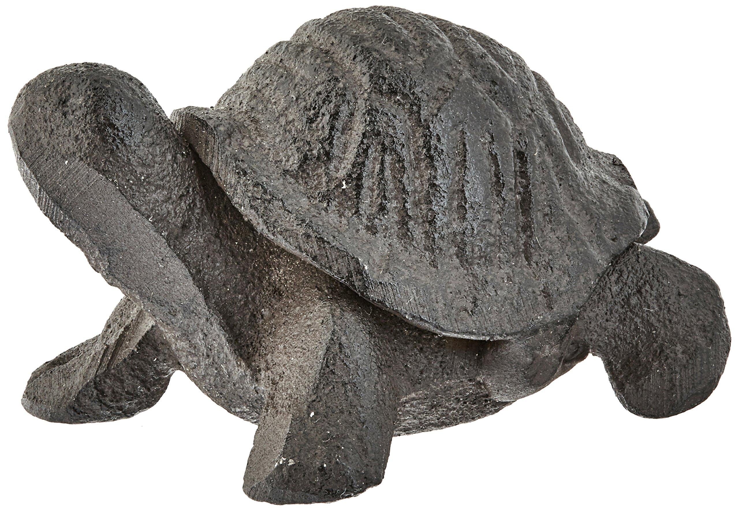 Abbott Collection Dark Brown Mini Turtle Figurine
