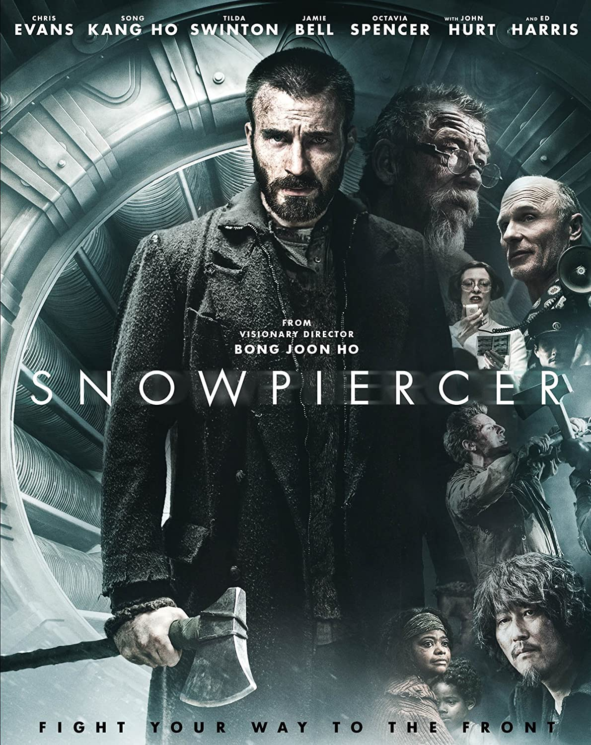 Amazon.com: Snowpiercer [Blu-ray]: Chris Evans, Tilda Swinton, Jamie Bell,  Ed Harris, Octavia Spencer, John Hurt, Bong Joon Ho: Movies & TV