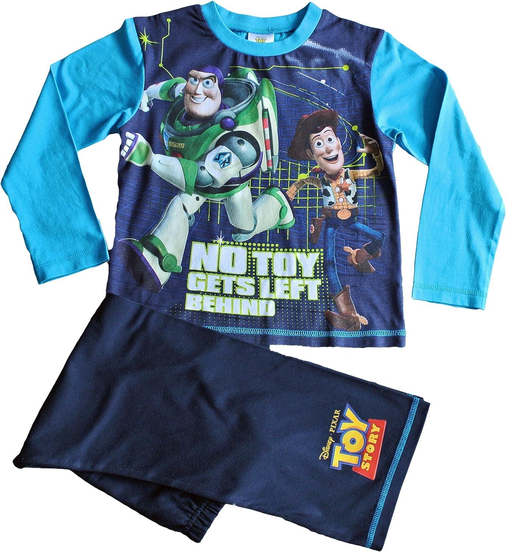 Toy Story Pijama Buzz y Woody Pijama W14 2 Permiten el Paso de la 6 a/ños