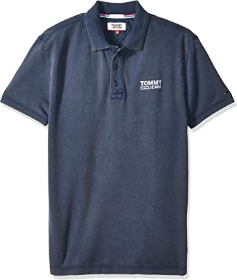 Tommy Hilfiger Summer Pique Polo, Azul (Black Iris 002), Small ...
